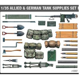 ACA-13260 academy 13260 1/35 SUPPLIES I FOR WW II (1382)