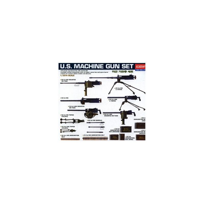 ACA-13262 academy 13262 1/35 MACHINE GUN SET