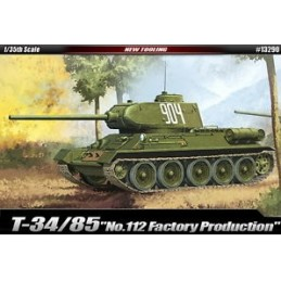 ACA-13290 academy 13290 1/35 T-34/85 112 FACTORY PRODUCTION  3/15
