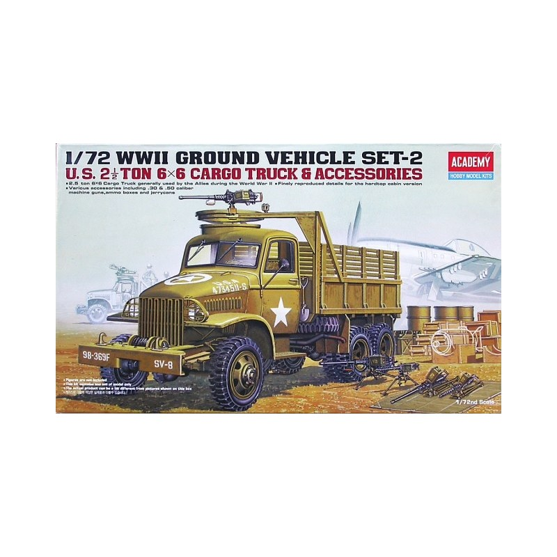 ACA-13402 ACADEMY 13402 1/72 US 2,5 TON TRUCK  ACCESSOIRES