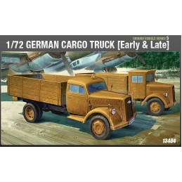 ACA-13404 academy 13404 1/72 GERMAN CARGO TRUCK (early or late) OOP