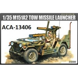 ACA-13406 academy 13406 1/35 M151A2 TOW MISSILE LAUNCHER