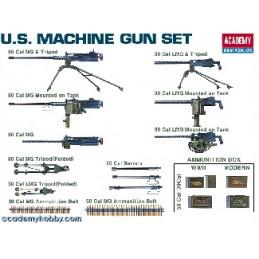 ACA-1384 ACADEMY 1384 1/35 MACHINE GUN SET (13262)
