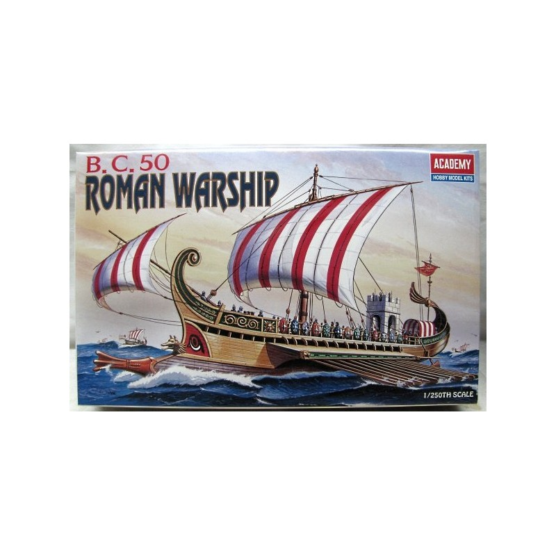ACA-14207 ACADEMY 14207 1/72 ROMAN WAR SHIP (1401)
