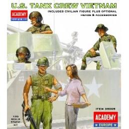 ACA-35005 1/35 US TANK CREW VIETNAM