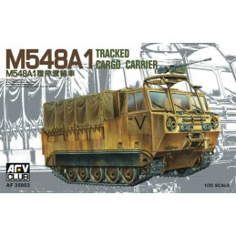 AFV-35003 AFV Club 35003 1/35 American M548A1 Tracked Cargo Carrier