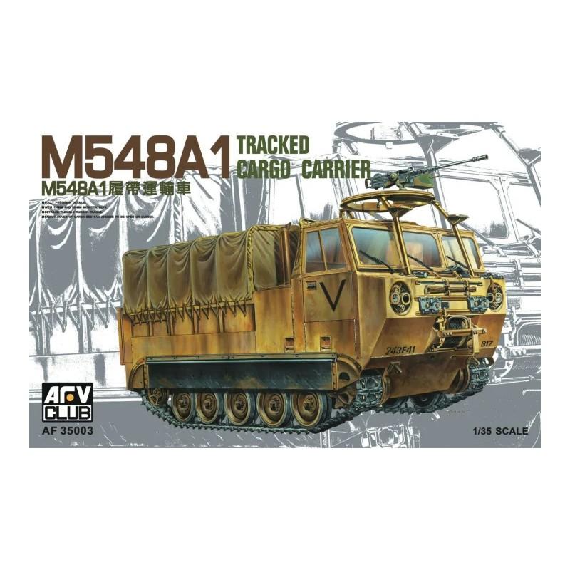 AFV-35003 AFV Club 35003 1/35 American M548A1 Tracked Cargo Carrier