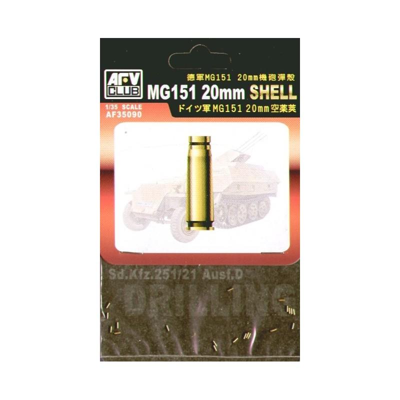 AFV-35090  AFV-35090 35090 1/35 MG 151 20 mm Shell Set