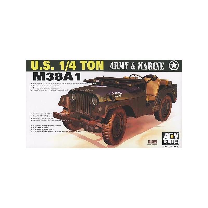 AFV-35S17 AFV Club 35S17 1/35 M38A1 US 1/4 ton Utility Truck
