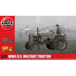 AFX-1367 airfix 1367 1/35 WWII U.S. Military Tractor