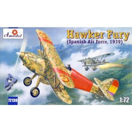 AM-72139 AMODEL 72139 1/72 Hawker Fury ( Spain ).Calcas españolas