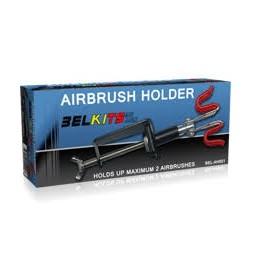 BEL-H001 BELKITS AH001 Soporte de mesa para dos aerógrafos