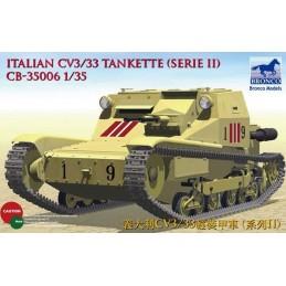 BM-35006 Bronco Models 35006 1/35  CV L3/33 Tankette
