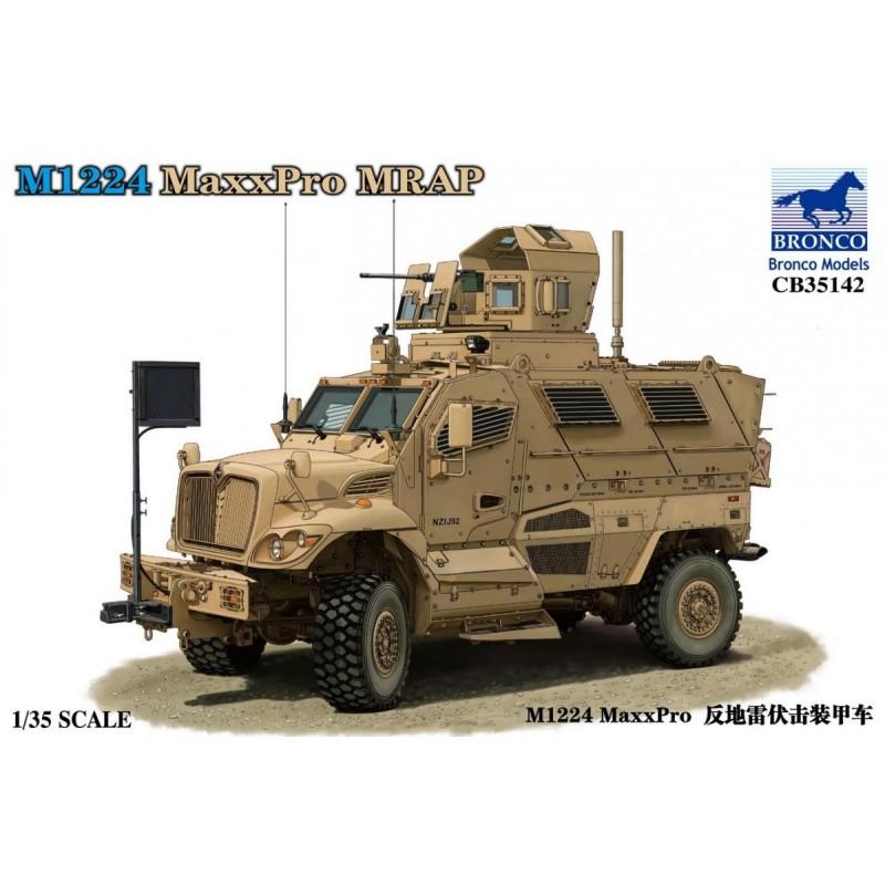 BM-35142 Bronco models 1/35 35142 M1224 MaxxPro MRAP