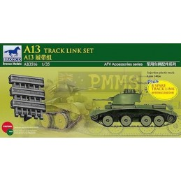 BM-3516 bronco model 3516 1/35 A13 Cruiser Tank Mk.III Track Link Set