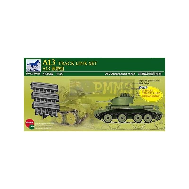 BM-3516 bronco model 3516 1/35 A13 Cruiser Tank Mk.III Track Link Set