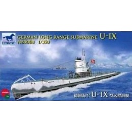 BM-5008 Bronco Models 5008 1:350 German Long Range Submarine Type U-IX