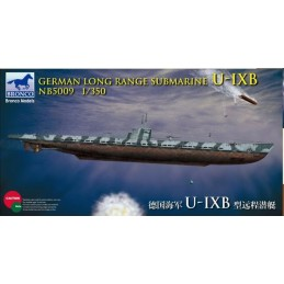 BM-5009 Bronco Models 5009 1:350 German Long Range Submarine Type U-IXB