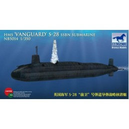 BM-5014 Bronco Models 5014 1/350 HMS-28 'Vanguard' SSBN Submarine
