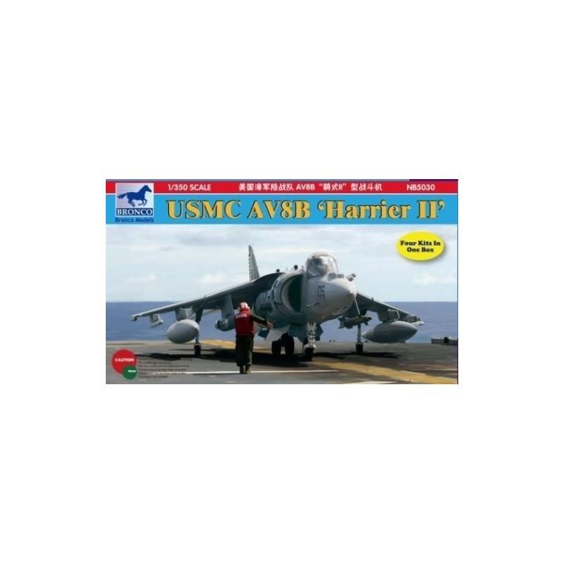 BM-5030 BRONCO MODEL 5030 1/350 U S M C AV-8B Harrier II 4 kits
