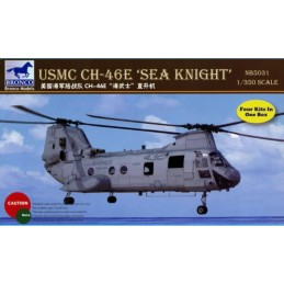 BM-5031 Bronco 5031 1/350 USMC CH-46E SEA KNIGHT