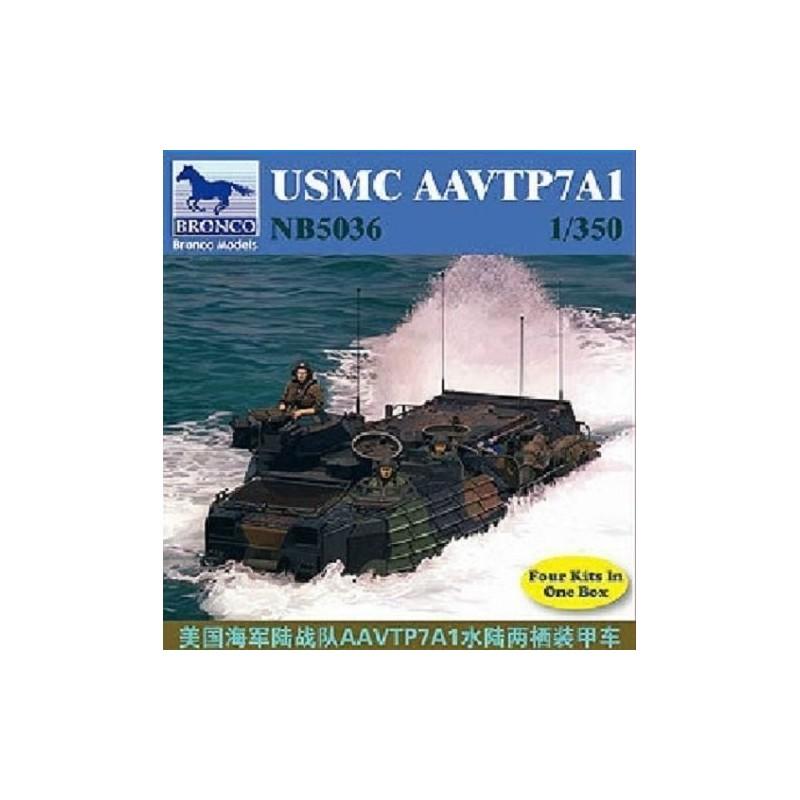 BM-5036 Bronco MODEL 5036 5036 1/350 USMC AAVTP7A1