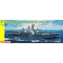 DRA-1024 Dragon 1024 1:350 U.S.S. Independence CVL-22. Smart Kit. (Dédalo armada Espanola)