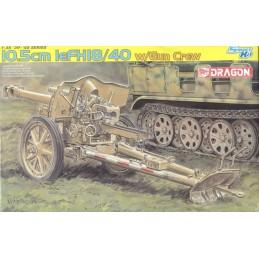 DRA-6795 DRAGON 6795 10.5cm leFH 18/40 w/Gun Crew