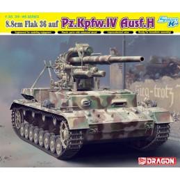DRA-6829 DRAGON 6829 1/35 88mm FlaK 36 auf Pz.Kpfw.IV Ausf.H (Smart Kit)