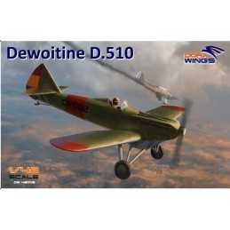 DW-48008 DORA WINGS  48008 1/48 Dewoitine D.510 Spanish civil war