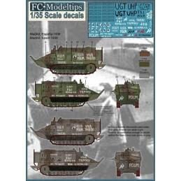 FC-35202 fc 35202 calcas 1/35 Calcas Schneider CA-1