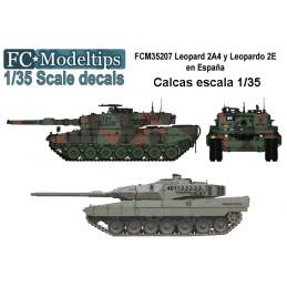 FC-35207 fc 35207 Calcas para Leopard 2A4 y Leopardo 2E en España