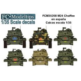 FC-35208 FC 35208 calcas 1/35 M24 CHAFEE EN ESPAÑA