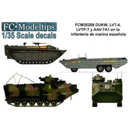 FC-35209 fc 35209 calcas 1/35 Vehículos de desembarco de la marina española
