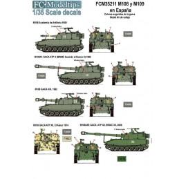 FC-35211 FC 35211 calcas1/35 M108 y M109 en España