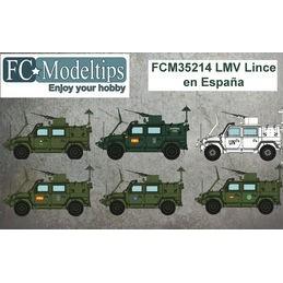 FC-35214 FC 35214 calcas 1/35  para el LMV Lince en España