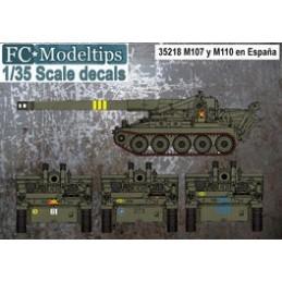 FC-35218 FC 35218 calcas 1/35 para el M107 y M110 en España