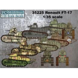 FC-35225 FC 35225 calcas 1/35 FT-17 internacional