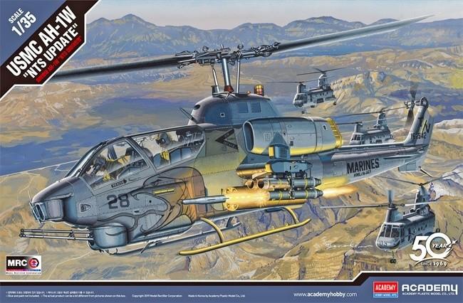 Academy 12116 1/35 USMC AH-1W NTS Update
