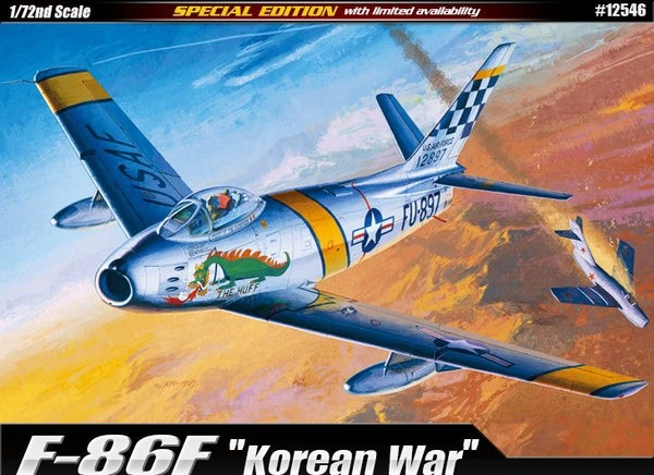 Academy 12546 F-86F Korean War