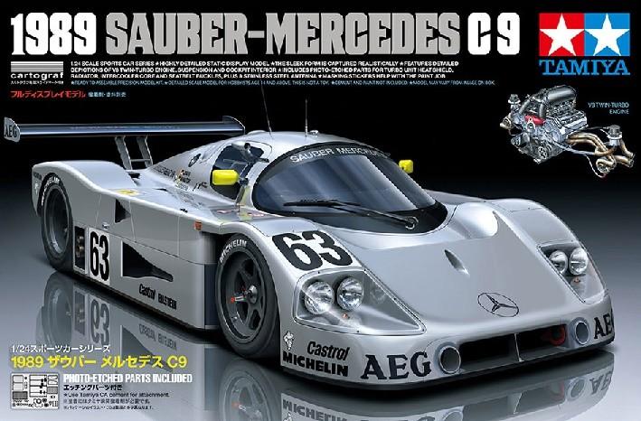 tamiya 24359 1/24 1989 Sauber-Mercedes C9