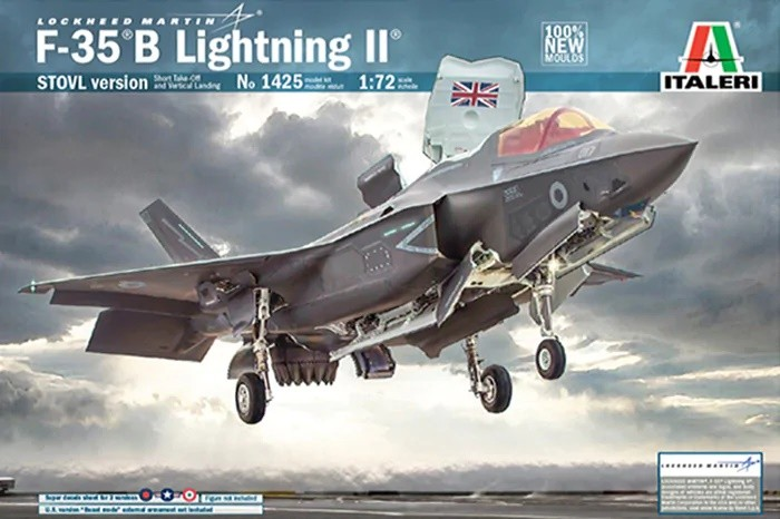 Italeri 1425 1/72 F-35B Lightning II (Stovl Version)