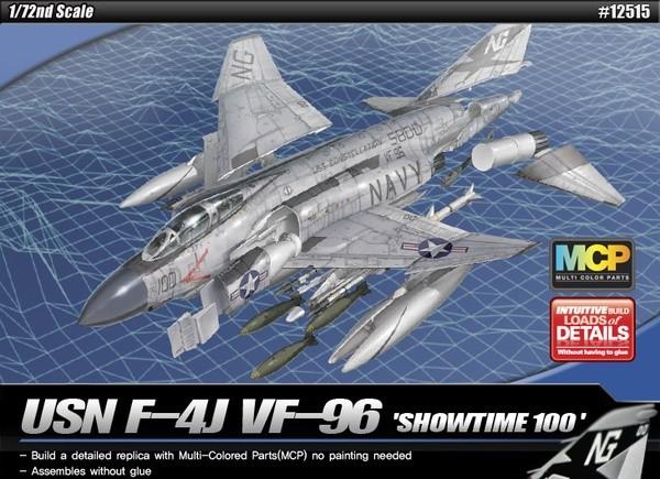 academy 12515 1/72 USN F-4J SHOWTIME 100 MCP