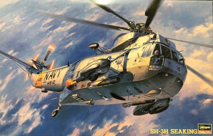 Hasegawa 07201 1/48 Sikorsky SH-3H Sea King