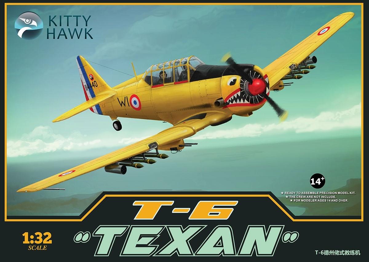 Kittyhawk 32002 1/32 T-6 Texan