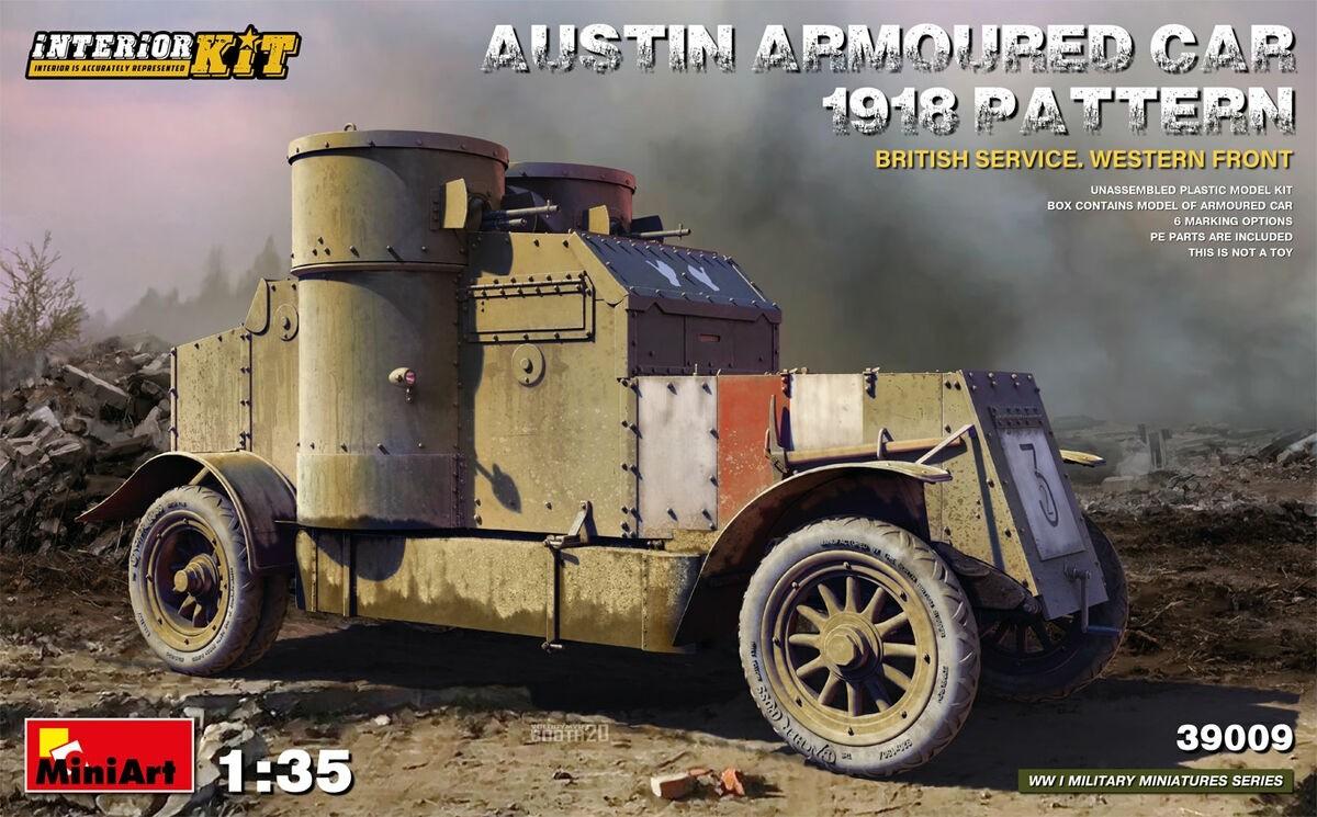 MiniArt 39009 1/35 Austin Armoured Car 1918 Pattern