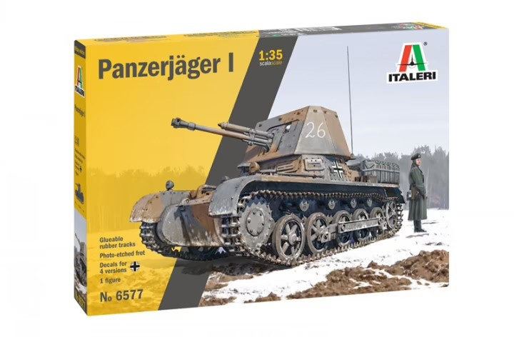 Italeri 6577 1/35 Panzerjäger I