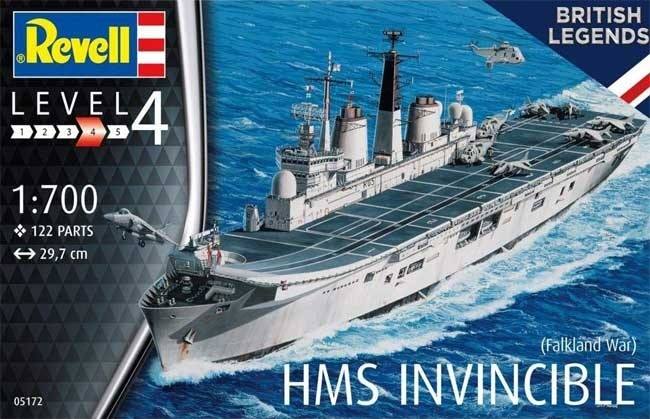 Revell 05172 1/700 HMS Invincible