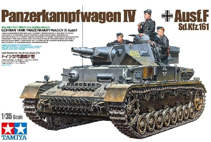 Tamiya 35374 1/35 German Tank Panzerkampfwagen IV Ausf.F