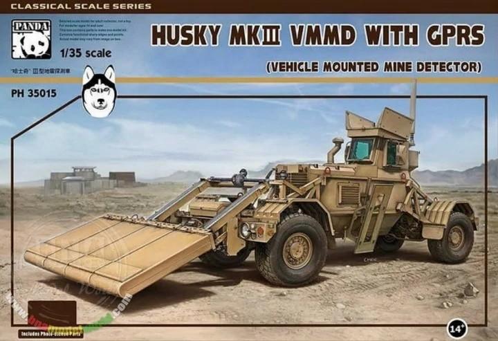 Panda Hobby 35015 1/35 Husky Mk.III VMMD with GPRS